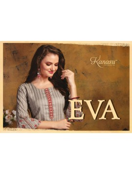 Woman Lining Rayon Straight With Work Kurti Eva