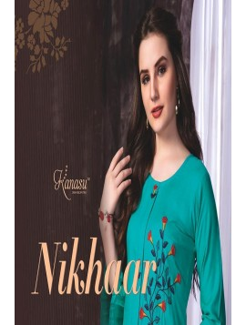 Women Kurta and Palazzo Set Pure Reyon Nikhar
